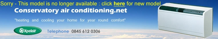 Conservatory air conditionding